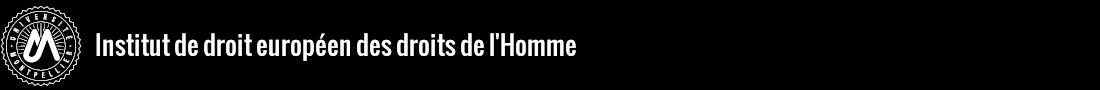 Institut de Droit Européen des Droits de l'Homme (IDEDH) Logo
